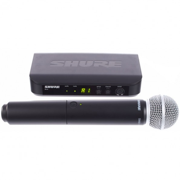 Micro Hf main – Shure BLX24/SM58