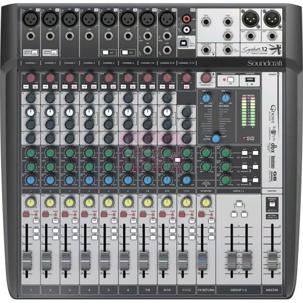 Table de mixage Signature 12 – Soundcraft
