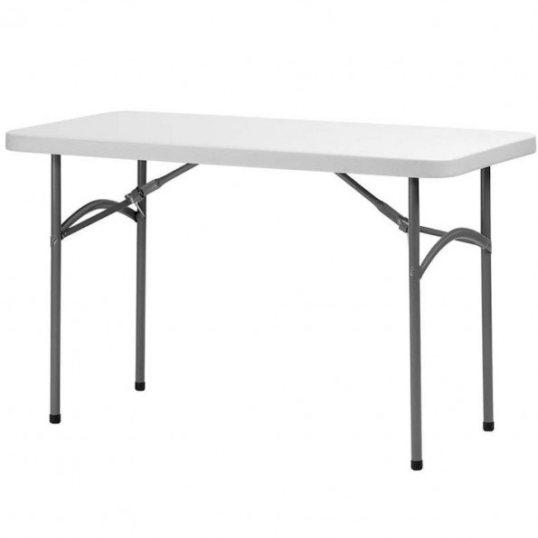 Table rectangulaire haute