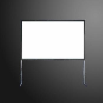 écran de projection sur cadre