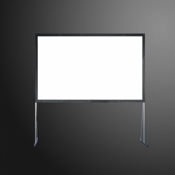 Ecran de projection sur cadre