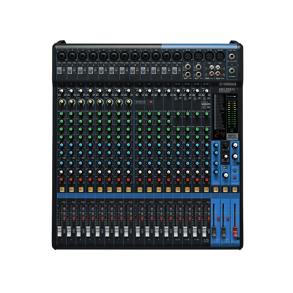 Table de mixage mg20xu 20 voies yamaha starlight venements - Table de mixage yamaha usb ...