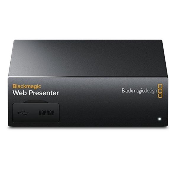 Convertisseur video Blackmagic web presenter