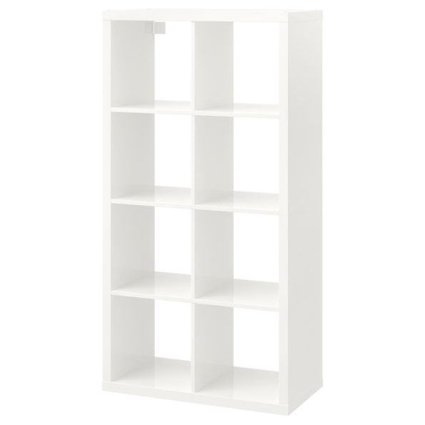 Etagere 8 cases blanche